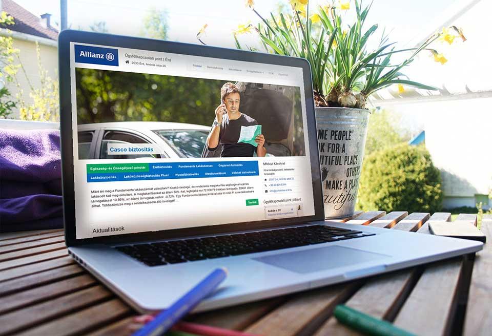 Allianz Ügyfélkapcsolati Pont – Érd