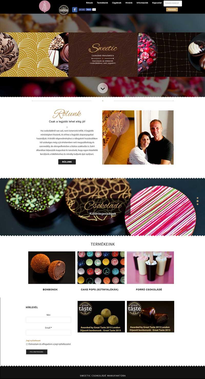 Sweetic Csokoládé Manufaktúra