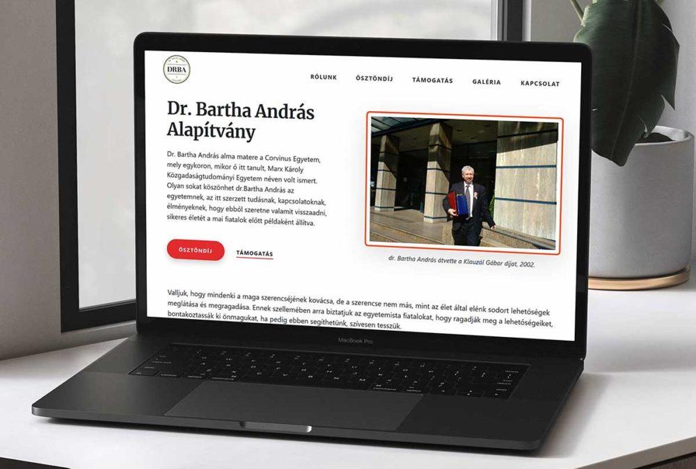 Dr. Bartha András Alapítvány